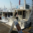 Helmsman Trawlers 37 & 38 in 2012 Seattle Boats Afloat