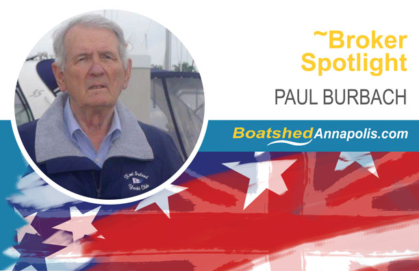 Paul Burbach - Boatshed Annapolis Agent | Boatshed USA