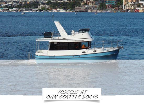 Seattle Yacht Sales | Seattle New & Used Yacht Brokerage