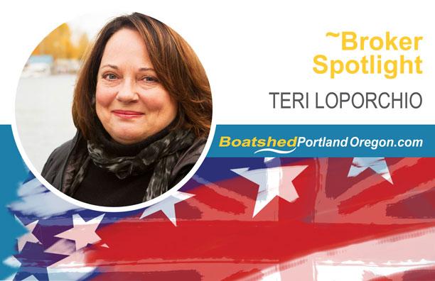 Teri Loporchio - Boatshed Portland Oregon
