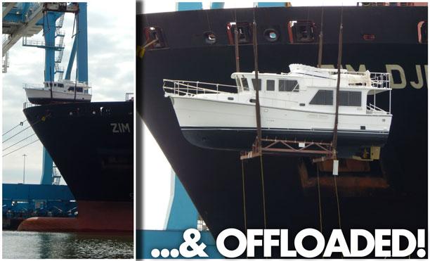 Helmsman Trawlers 38E Norfolk, VA Offload