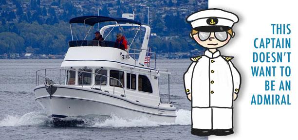 Waterline Boats / Helmsman Trawlers Boats for sale Lake Union Seattle.