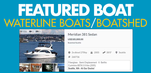 Waterline Boats Featured Boat - Meridian 381